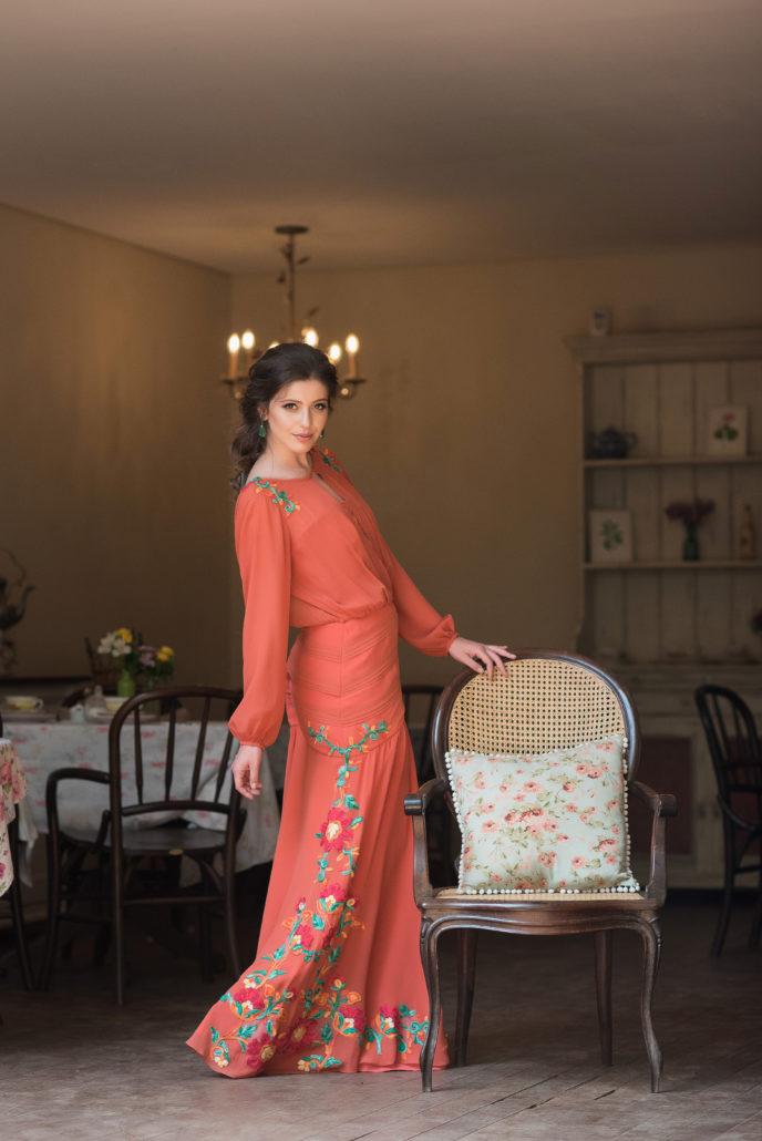 vestido-de-madrinha-de-casamento-laranja