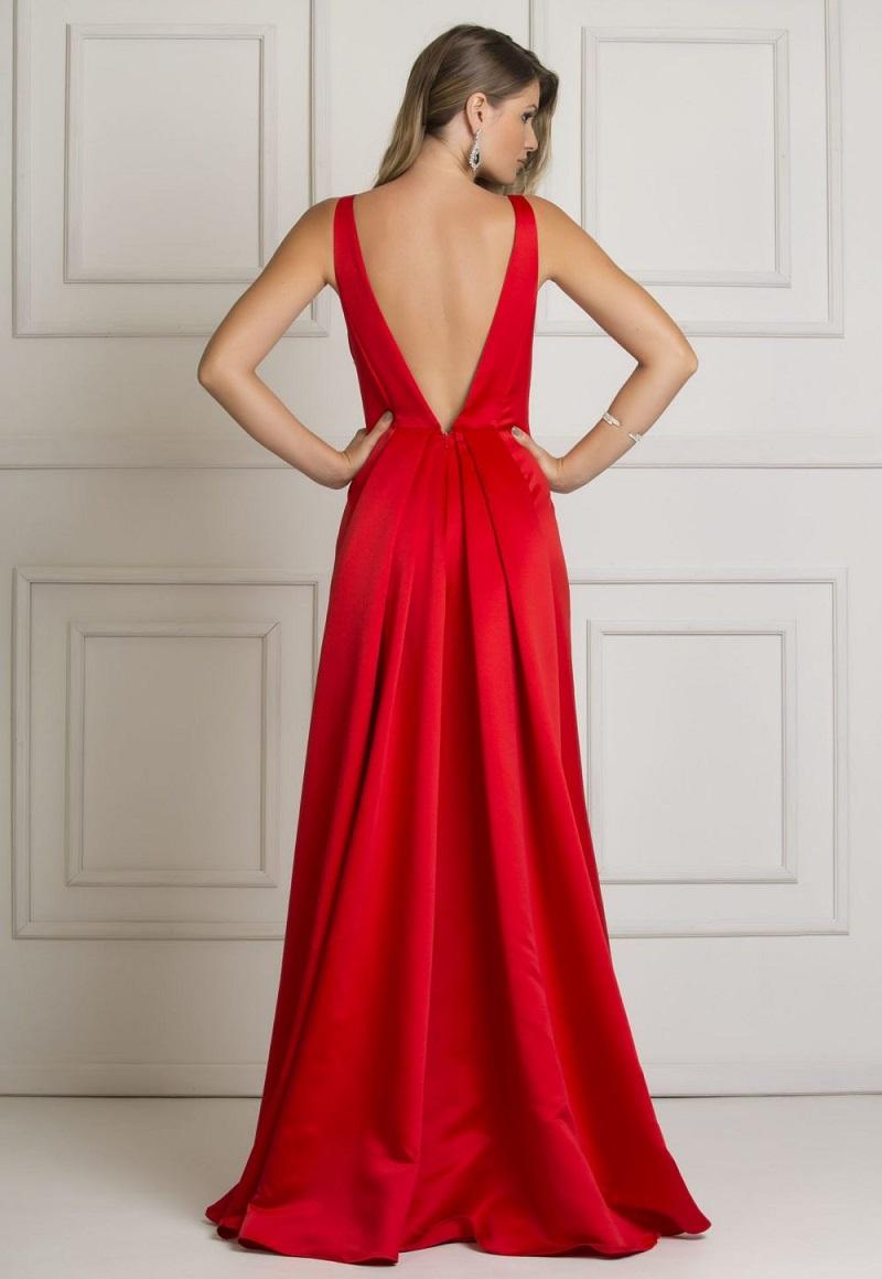 vestido-de-madrinha-de-casamento-vermelho