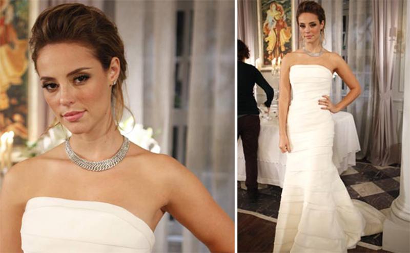 vestido de noiva das novelas