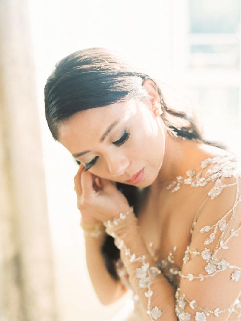 Alongamento de cílios para noivas