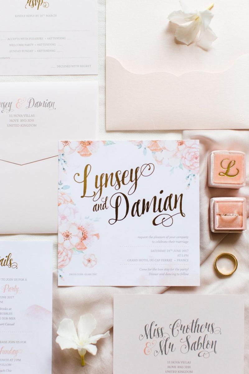 convite de casamento 2019
