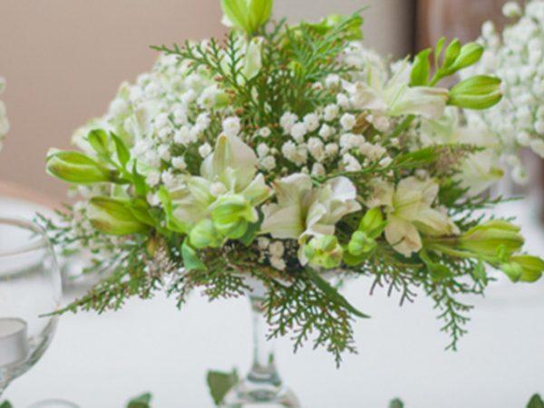 decoração simples de casamento