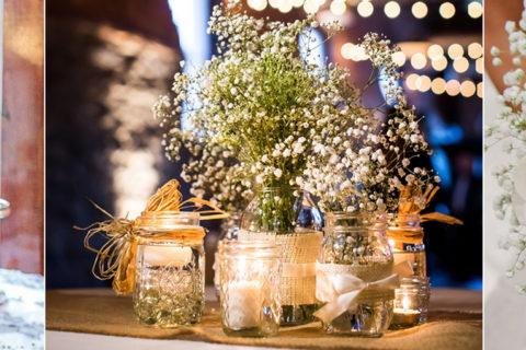 Mosquitinho para decorar cerimônias e festas de casamento