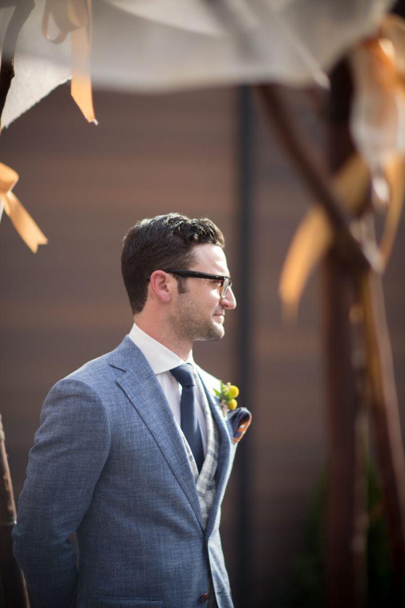 Terno do noivo para casamento clássico