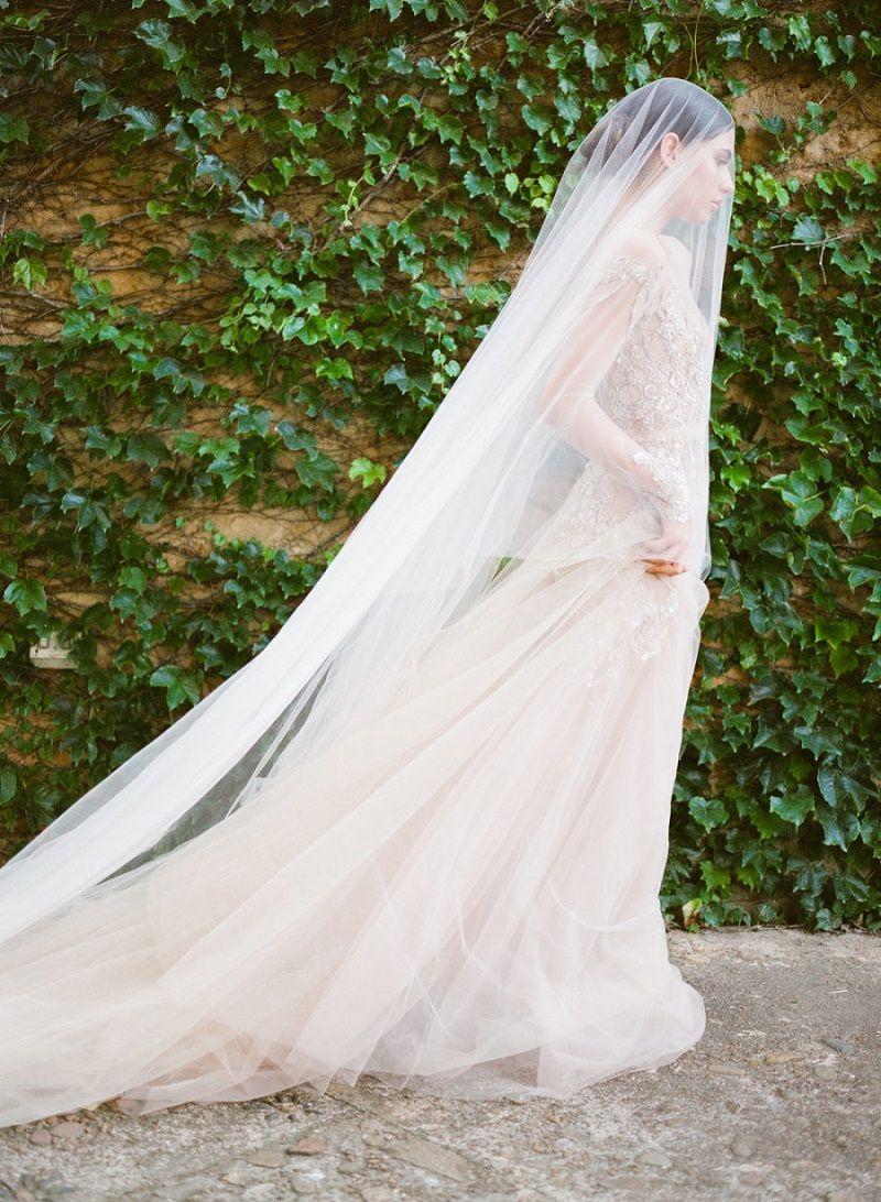 véu-de-noiva-francês