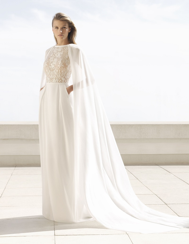vestido-de-noiva-com-capa-lisa