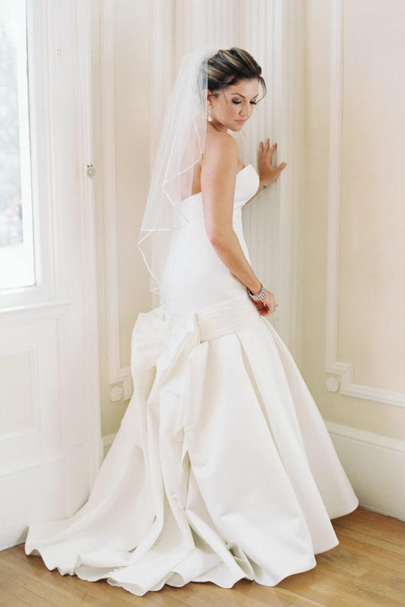 vestido de noiva de sereia