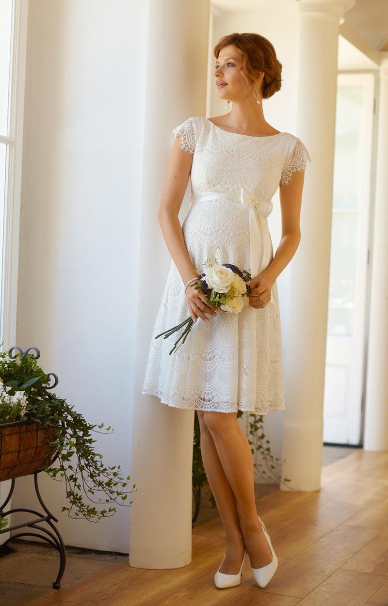 vestido de noiva para grávida