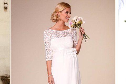 Vestido de noiva para grávida: como encontrar a melhor opção