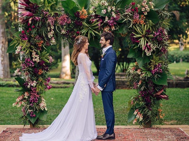 editorial casamento no campo