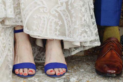 Sapatos coloridos para noivas: dicas para escolher a cor ideal