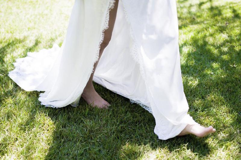 vestido de noiva com fenda na saia 3