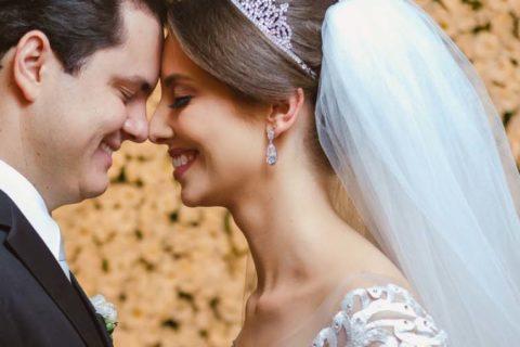Nosso amor se construiu a cada dia, é abençoado por Deus | Ana Cristina e Fernando