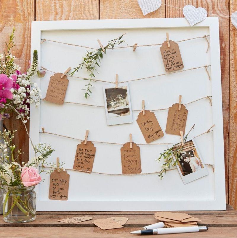 Porta recado para ser usado na cerimônia de casamento