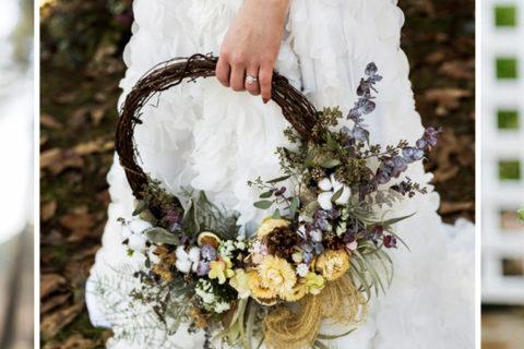 Buquê de noiva em arco: tudo sobre a aposta criativa e moderna