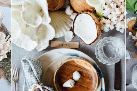 Coco na decoração de casamento: tudo sobre esse toque tropical