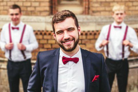 Meias e gravatas para padrinhos: dicas para a combinação perfeita