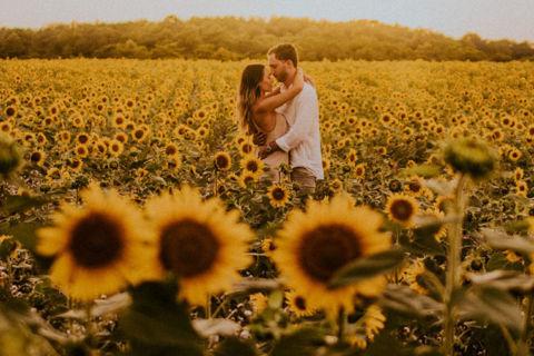 Marcella e Jonathan | Uma linda história de amor à distância que virou casamento