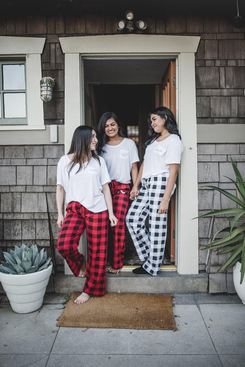 pijamas presentes para madrinhas