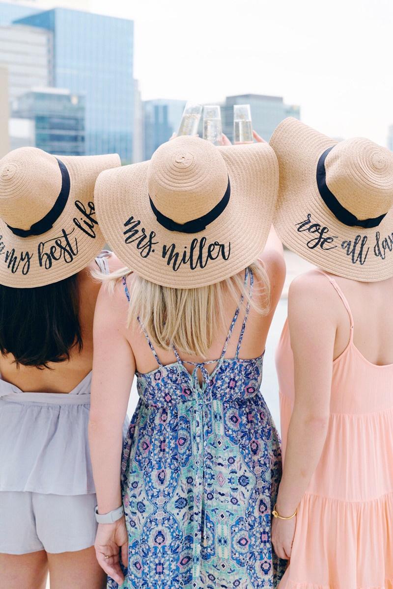 chapéus para madrinhas de casamento