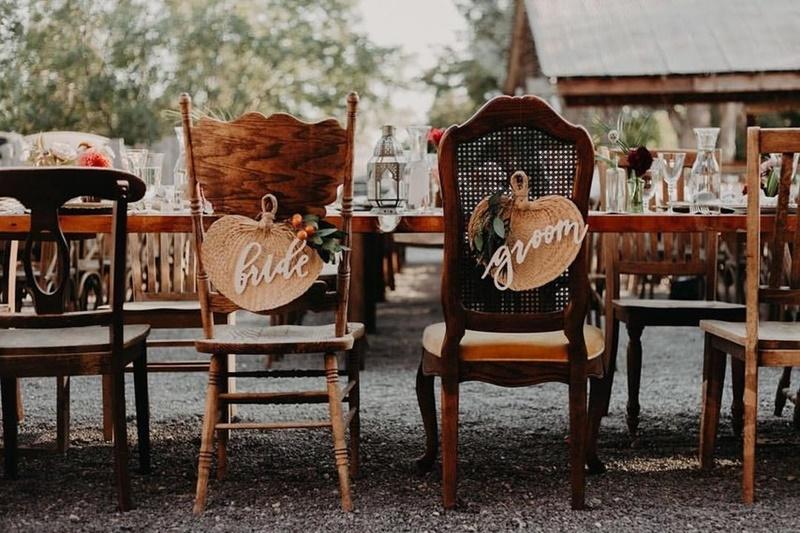 cadeiras personalizadas para casamento
