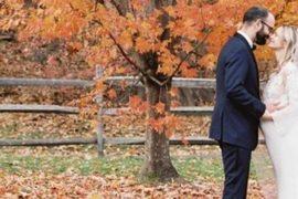 casamento no outono