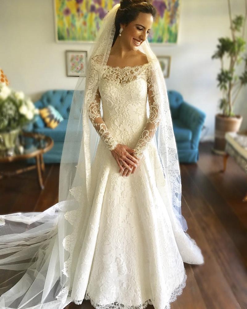 comprar ou alugar vestido de noiva Luciana Collet