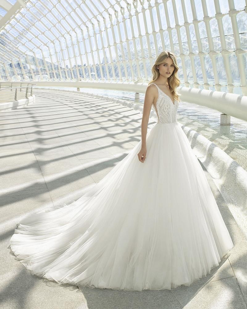 comprar ou alugar vestudo de noiva rosa clara