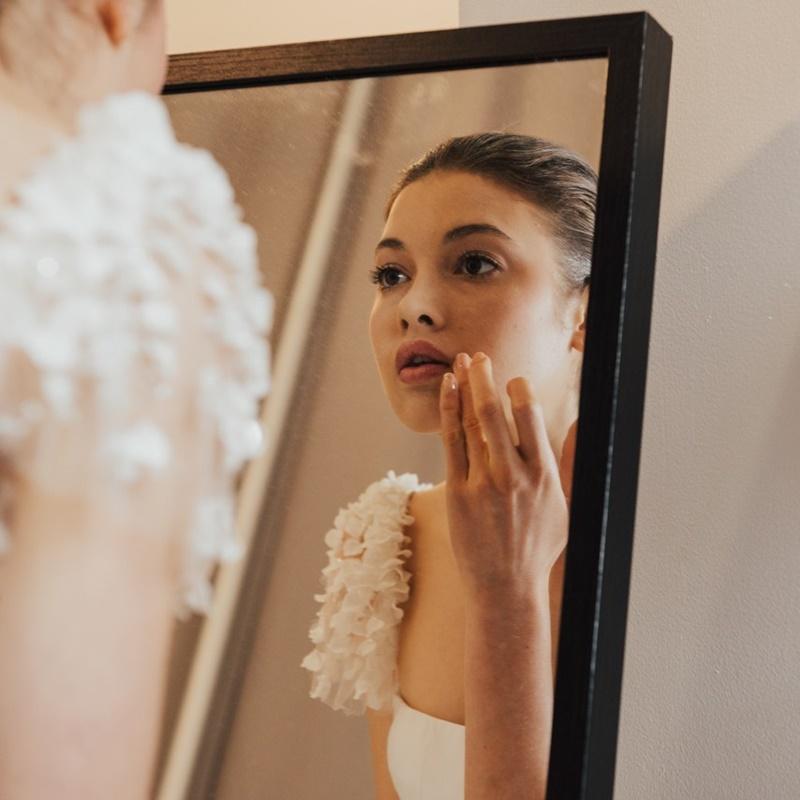 maquiagem de casamento no outono
