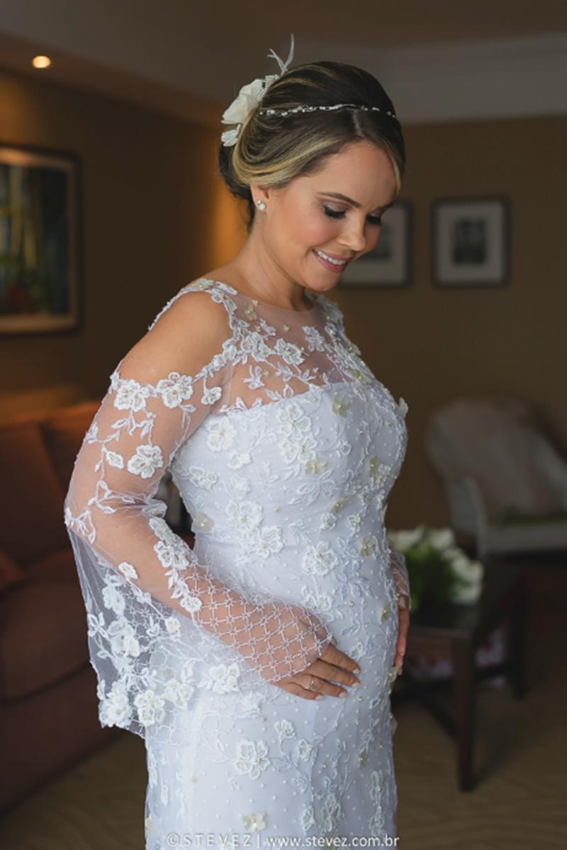 8172e0491 Noivas grávidas: 8 cuidados essenciais no casamento