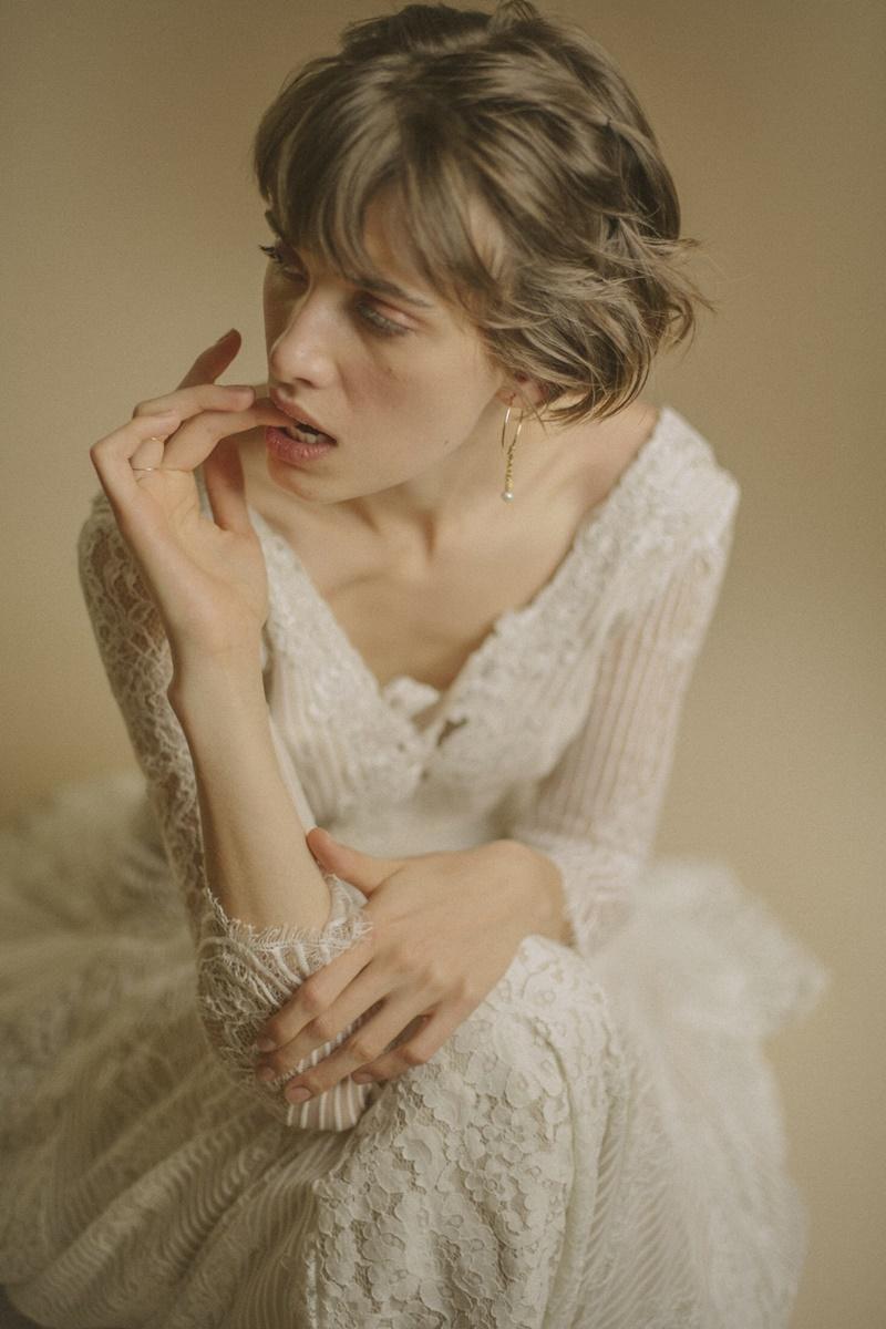 vestido de noiva para casamento no outono