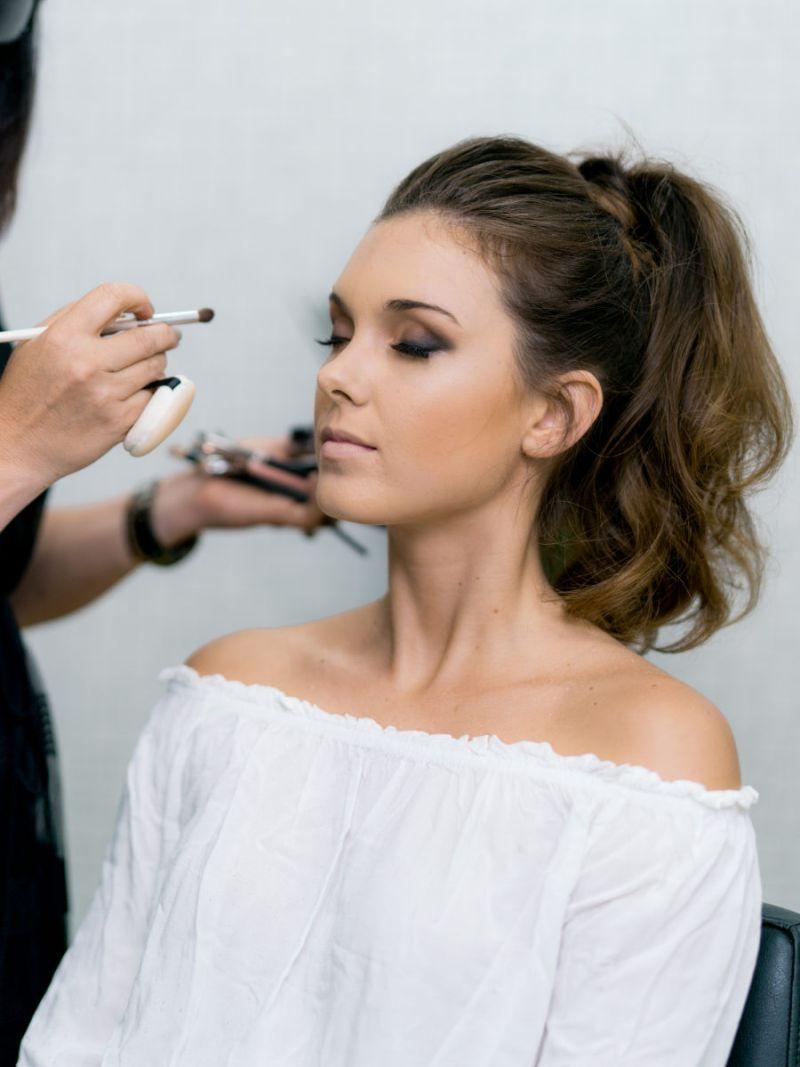 maquiagem para noiva à noite
