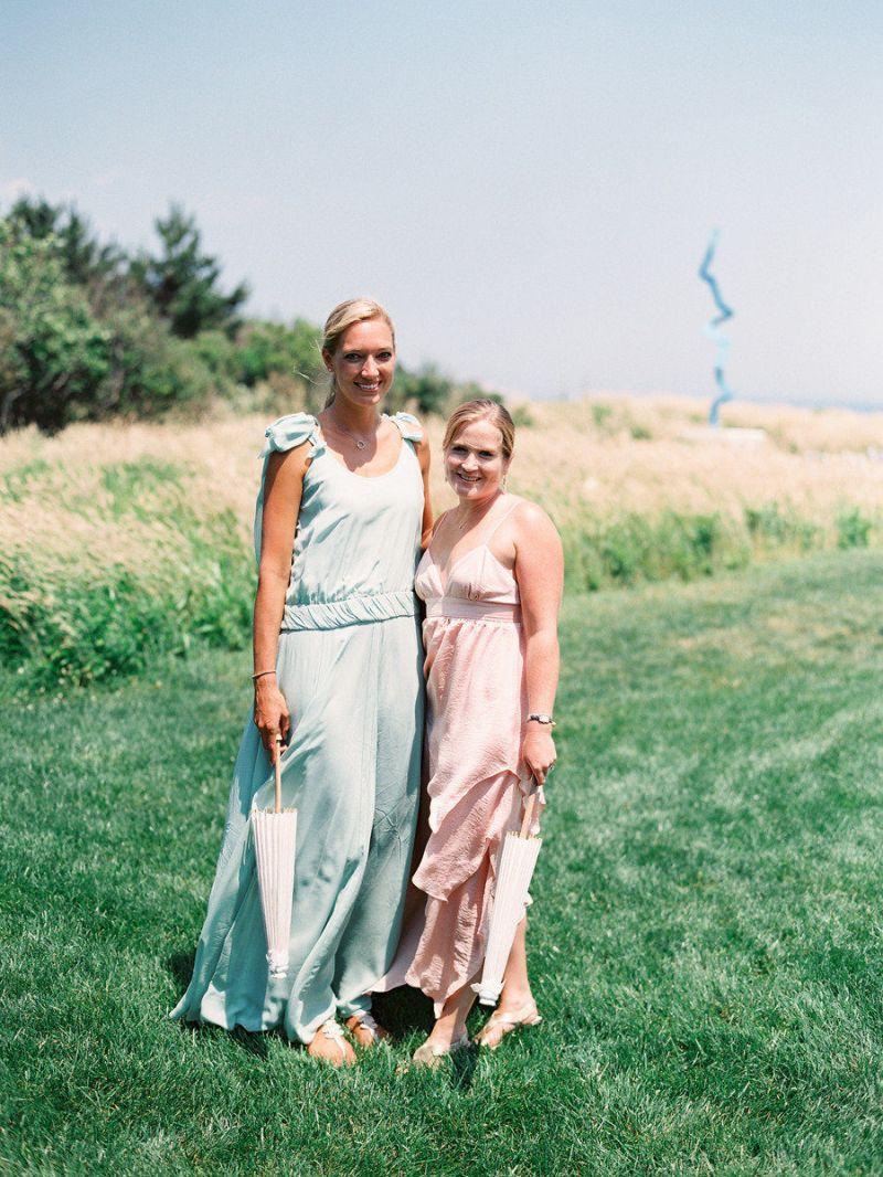 Vestido para casamento no campo para convidada