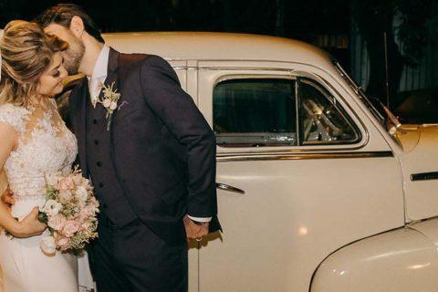 Casamento lindo em um charmoso bistrô | Luciane e João