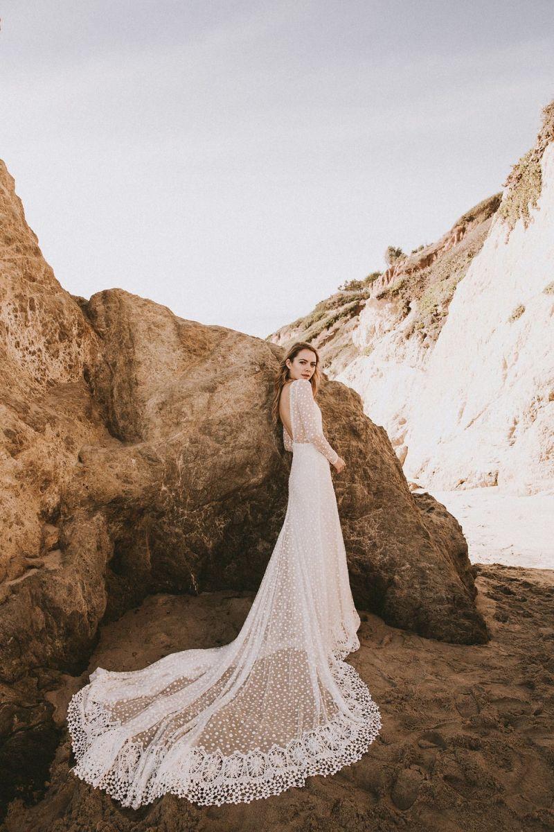 Vestido de noiva para casamento na praia