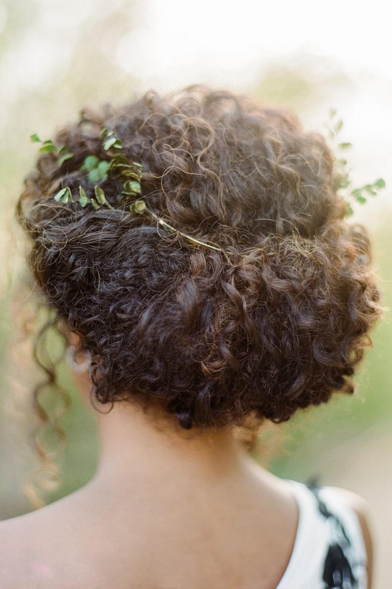 Penteados com cachos