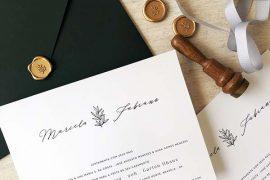 Convites do casamento | Como contratar o melhor serviço de entrega