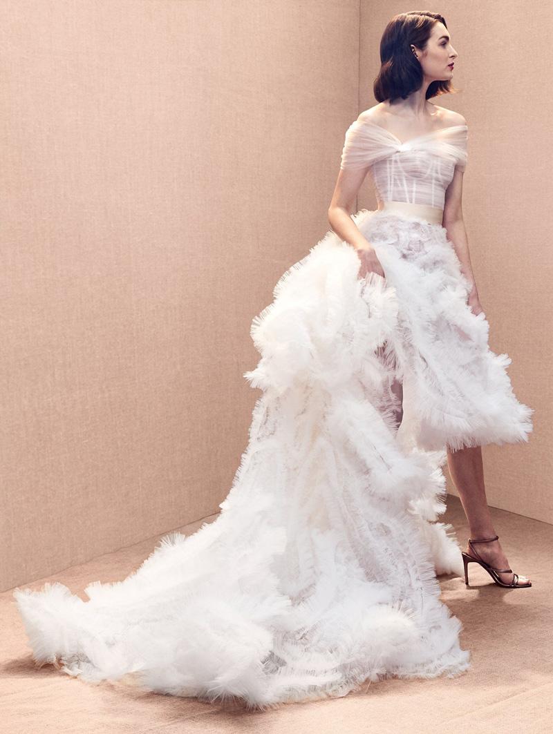 vestido de noiva mullet