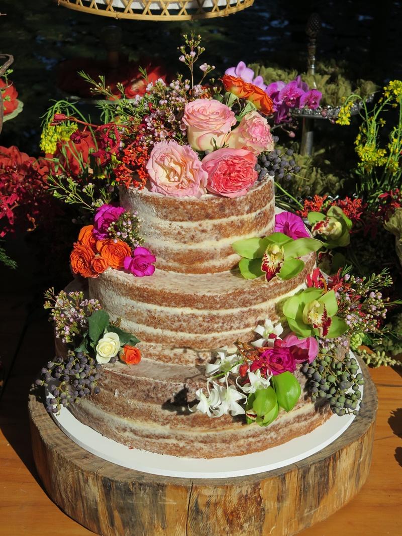 sabores de bolos de casamento