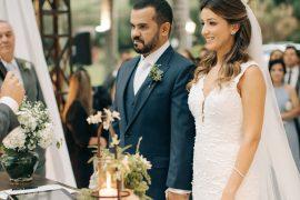 Eles nem imaginavam que um match os levaria ao altar | Arianne e Vinicius