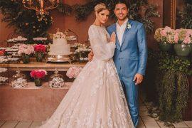Casamento religoso Thássia Naves e Artur Attie | Cerimônia clássica em Uberlândia