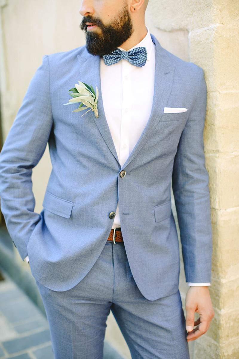 Terno azul