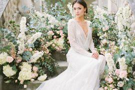 O que você precisa saber sobre vestido de noiva com manga longa