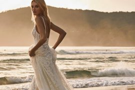 Vestido de noiva para casamento na praia | Como escolher o modelo ideal