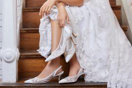 As vantagens do sapato para noiva de salto baixo