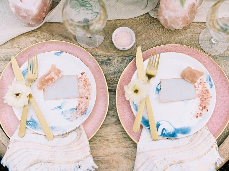 decoração-de-casamento-rosé-e-azul