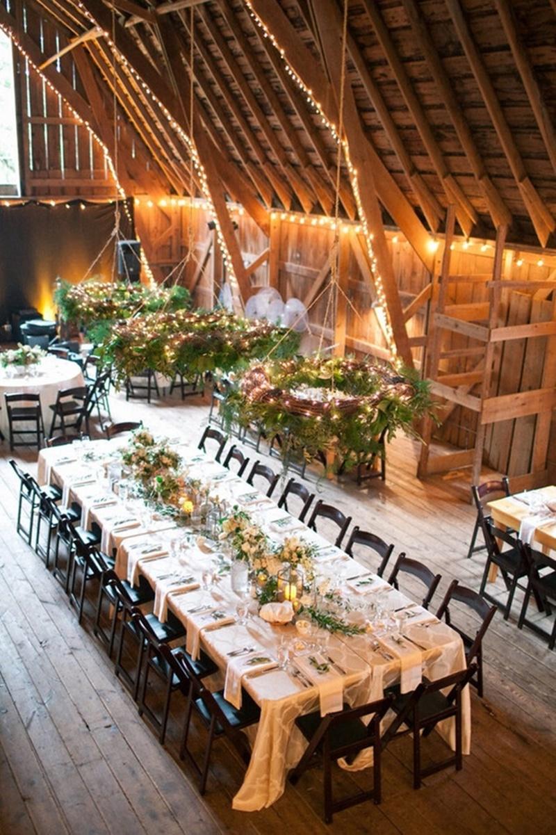 decoração de casamento mesa comunitária
