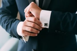 Abotoadura para noivos | Como escolher o modelo ideal