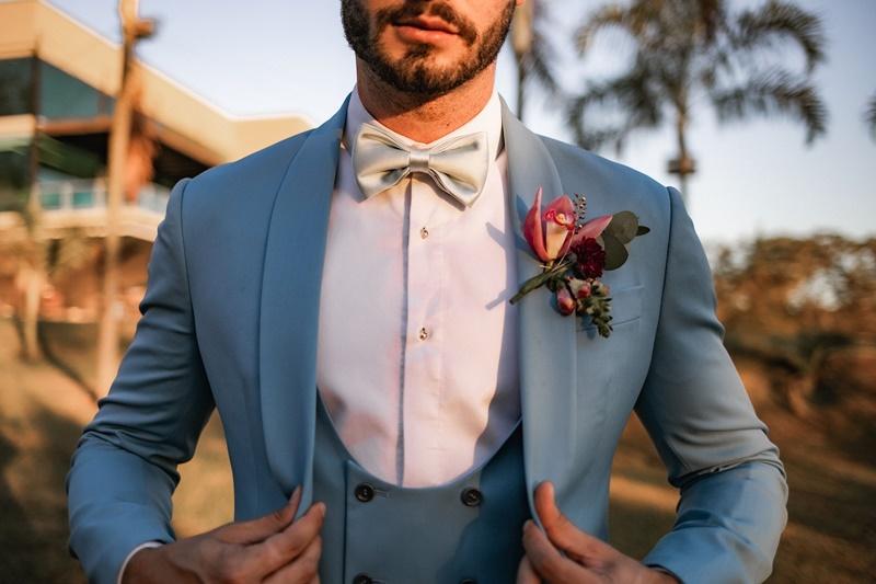 traje do noivo casamento no verão
