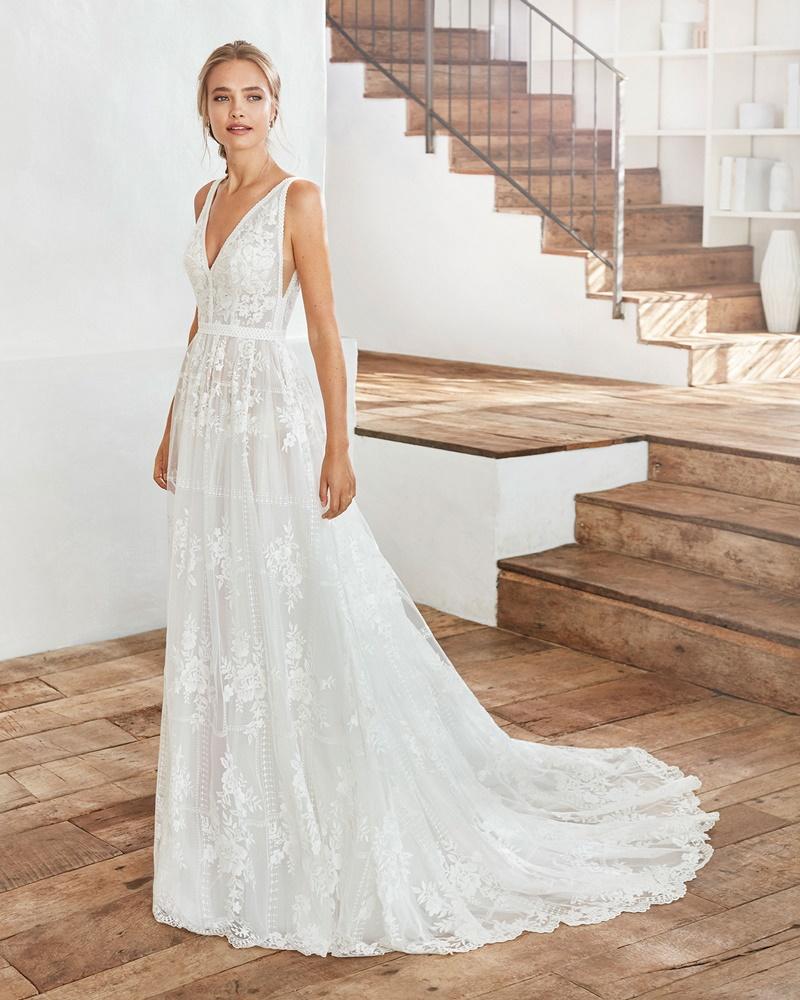 vestido de noiva verão